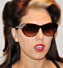 """BOW TIE TORTOISE Retro 50""""s Style Sunglasses"""