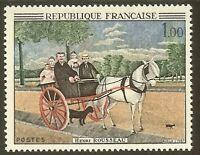 "FRANCE N°1517 ""DOUANIER ROUSSEAU"" NEUF xx TTB"