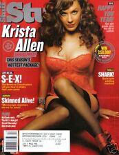 Magazine STUFF December 2003 Kelly Packard Rachel Bilson KRISTA ALLEN