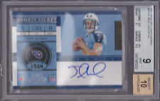 2011 Playoff Contenders #211A Jake Locker Auto RC BGS 9 10