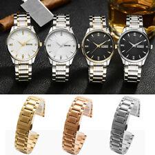Universal Stainless Steel Watch Band Strap Bracelet Waterproof Wristband 14-24mm
