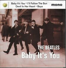 Beatles Baby It's You + 3 USA Ep With Picture Sleeve Mono Apple 1995