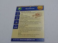 D&D DUNGEONS & DRAGONS MINIATURES GUENWYVAR PROMO EPIC CARD HC499