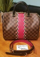 2623987438d91 NEW 2018 AUTHENTIC LOUIS VUITTON SPEEDY 30 BANDOULIERE Karakoram Damier  Ebene