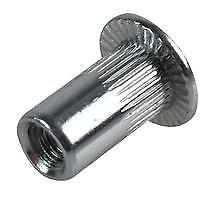 RIVET NUT STEEL M8 0.5-3 PK50 Fasteners & Hardware Nuts - GZ86008