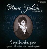 NEW Mauro Giuliani, Volume 2 (Audio CD)