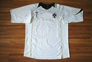 PORTUGAL NATIONAL TEAM 2004/2005/2006 AWAY FOOTBALL JERSEY SHIRT SIZE MENS XL