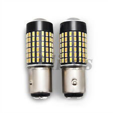 Compatible BMW 1157 DUAL COLOR SWITCHBACK WHITE/AMBER 120-LED SIGNAL CORNER BULB