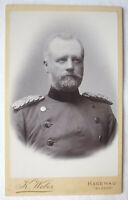 CdV Preussische KRIEGSAKADEMIE BERLIN 1886 - 1889 Goerzig Feld Artillerie Nr. 31