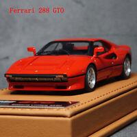 BBR Deluxe 1:43 Scale Ferrari 288 GTO Rosso Crosa Car Model Limited Edition