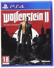 WOLFENSTEIN 2 The New Colossus PS4 EN CASTELLANO FISICO NUEVO Y PRECINTADO