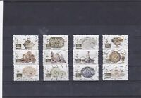 FRANCE 2018 LES ARTS DE LA TABLE SERIE COMPLETE DE 12 TIMBRES OBLITERES