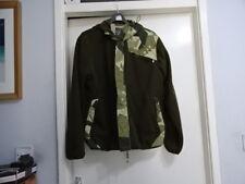 Mens Maharishi Polar Fleece Zip Up Hoodie Green/Camouflage Jacket Size L