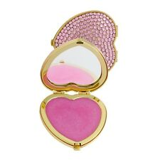 Katie Price Besotted Lip Balm in Heart Shaped Crystal Mirror Compact