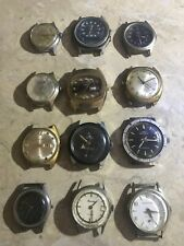 Lot of Mens Watches Benrus Fossil Timex and more