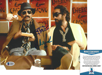 CHEECH & CHONG DUO SIGNED UP IN SMOKE 8x10 PHOTO 2 TOMMY CHEECH BECKETT COA BAS