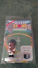 1995 JOE CARTER MICRO STARS MLB COLLECTOR'S SERIES FIGURE - NEW
