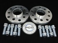 20mm VW AUDI 5x112 OR 5X100 Hubcentric Wheel Spacers, 57.1 bore &10 Radius Bolts