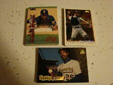 HODGE PODGE OF 40 MINT DIFFERENT BASEBALL CARD INSERTS 1994  1995 & 1999 CARDS
