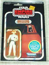 Vintage Star Wars 1980 KENNER AFA 80/85/85 CLOUD CAR PILOT ESB 45 BACK CARD MOC