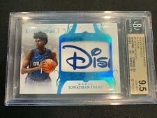 2017-18 Panini Flawless Jonathan Isaac RC Disney Logo Patch #d 1/1 BGS 9.5