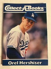 """Orel Hershiser Collect-A-Book, Los Angeles Dodgers, 2 1/2"""" X 3 1/2"""", 1990"""