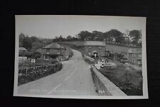 More details for vintage postcard bridge end aveton gifford village devon unposted real photo rp