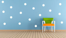 20 x Polka Dots, Spot vinyl Stickers Decal Mural, Crafting Wall Mirror Window