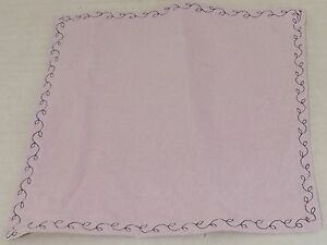 Muslin & Flannel Baby Wash Cloth Purple Flannel