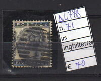 FRANCOBOLLI INGHILTERRA USATI N°71 (A4788)