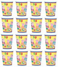 NEW 16x Peppa Pig 9 oz Paper Party Cups Birthday Party Favor Supplies Decoration