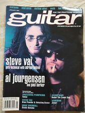 Guitar for the Practicing Musician Magazine January 1994 Steve Vai Ministry