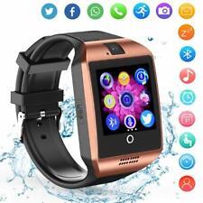 Luxury Bluetooth Smart Watch Phone Camera For Samsung S10 S9 Plus J6 J7 J5 Prime