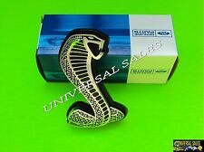 FORD MUSTANG COBRA GT500 SNAKE GRILLE FRONT EMBLEM 2007-2012 SHELBY NEW IN BOX