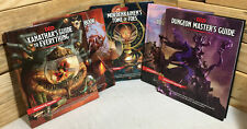 D&D Guides Lot Of 5! Dungeon Master, Xanathar, Mordenkainens,Handbook,Adventure!