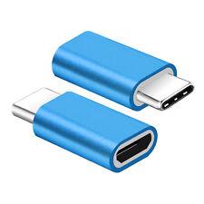 Micro USB to USB 3.1 Type-C Data Adapter Converter For Samsung LG Google HTC