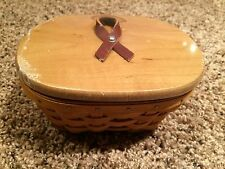 Longaberger Horizon of Hope 2007 Warm Brown Basket Set