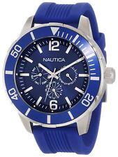 BRAND NEW NAUTICA MENS N14624G NSR 11 CHRONOGRAPH BLUE CLASSIC WATCH
