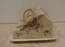 Antique Vintage Ceramic Cheese Dish/Butter Dish Mark 1888