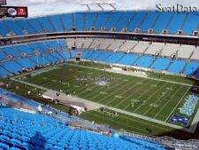 2 Carolina Panthers vs Tampa Bay Buccaneers Tickets Sec 537 ROW 10