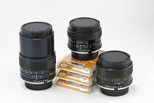 Minolta MC Rokkor Lot 3  Lens 28 3.5 50 1.4 135 2.8 adapt Mirrorless SONY Fuji