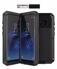 Dustproof Shockproof Aluminium Gorilla Metal Case Samsung Galaxy Note 8 Black