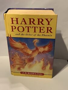 HARRY POTTER & THE ORDER OF THE PHOENIX by J K ROWLING BOOK 1st EDITION HB