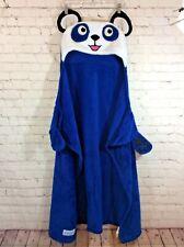 "Snuggie Bright Eyes Panda Blanket 50"" x 36"" One Size Child Blue Hooded Panda"