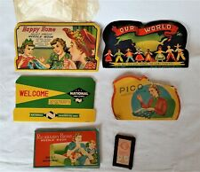 Lot of Vintage Sewing Needle Booklets Packets