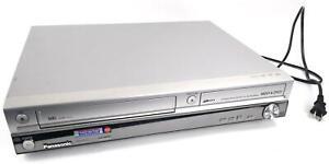 Panasonic DMR-EH75V DVD VCR Recorder Player VHS 80GB HDD HDMI SD Card DV Input