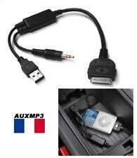 Cable auxiliaire interface iphone ipod pour BMW mini cooper BMW Série 1 idrive
