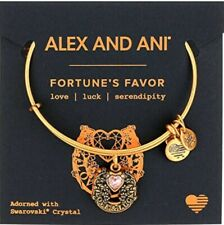 "Alex and Ani "" FORTUNE'S FAVOR "" RG, NWT, Card"