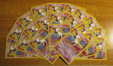 20x LP Lot Pokemon Mew Carte Noir Étoile Promo Set #8 Non-Holo la Ligue des 2000