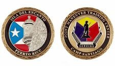 CAMP SANTIAGO Salinas PUERTO RICO Challenge Coin NATIONAL GUARD Joint Center PR